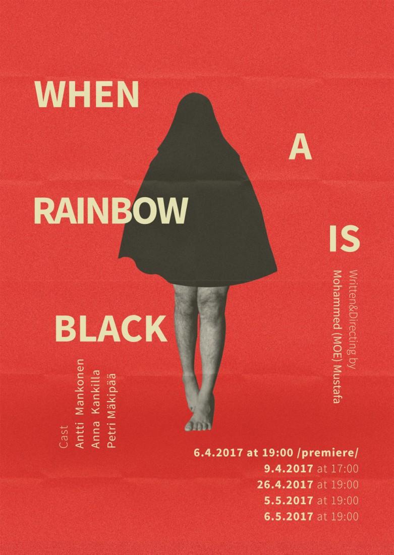 When a Rainbow Is Black  © Mohammed Mustafa